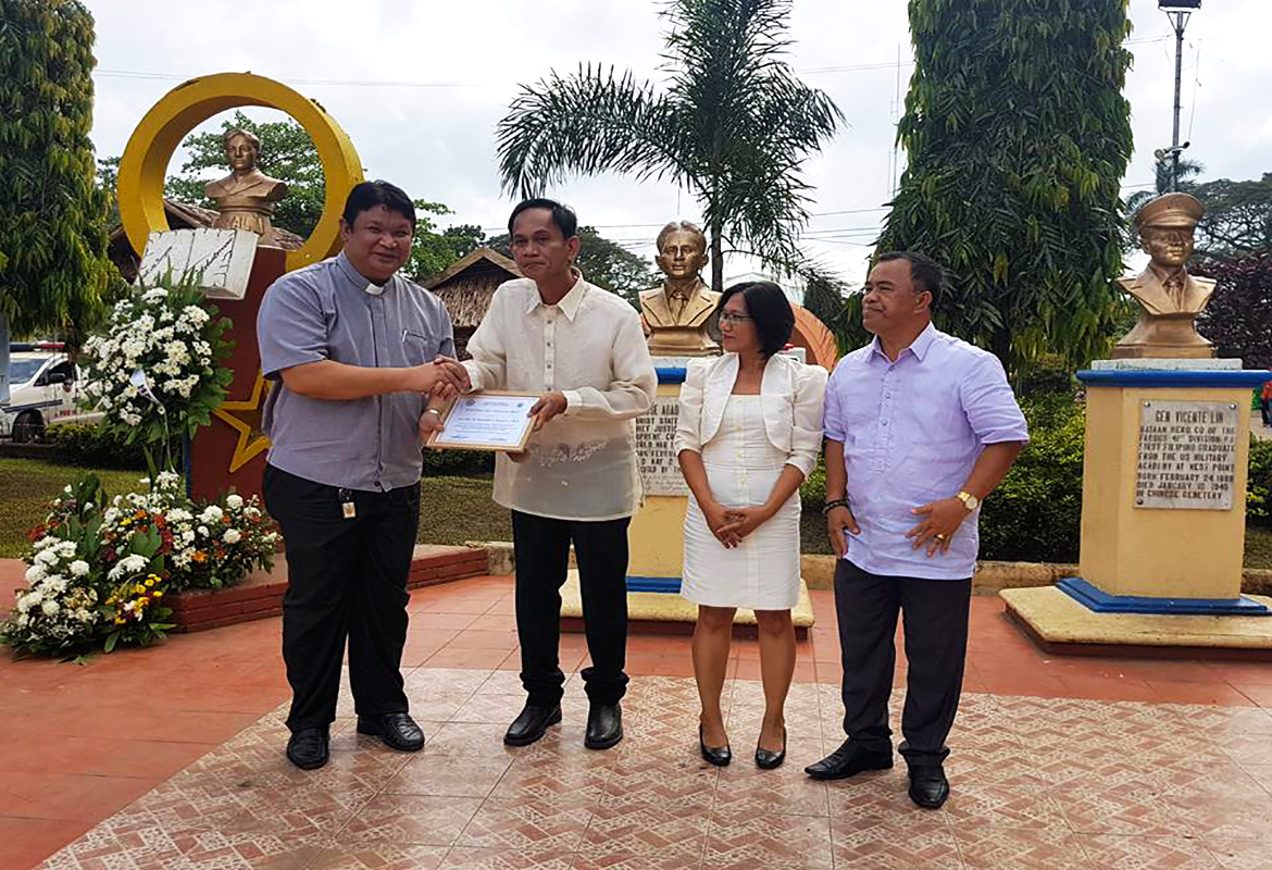Awarding of Plaques